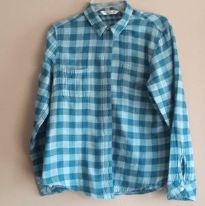 Riders Lee Checkered Shirt medium